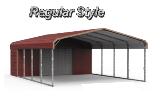 Combo Units Carports With Storage